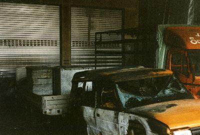 Feuerwehr Bauma: Brand Bär Rahmen