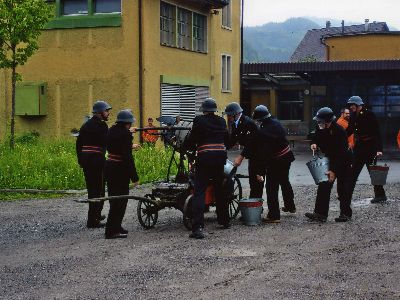 Feuerwehr Bauma: einst