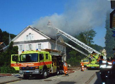 Feuerwehr Bauma: Haus Dr. Spörri