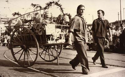 Landi - Umzug 1939: Heimarbeit Bauma