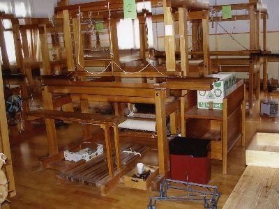 Handweberei: Handwebstühle