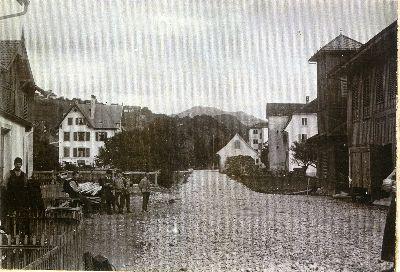 Bauma 1901: Hörnlistrasse