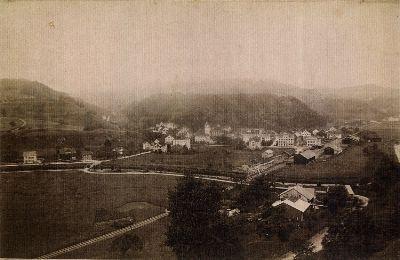 Bauma: vor der Tösskorrektion 1897 / 98