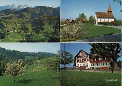 Sternenberg, Kirche und Sunnebad