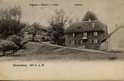Sternenberg, Pfarrhaus