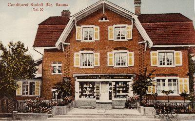Geschichtliches zur Konditorei, Confiserie, Bäckerei, Café Voland