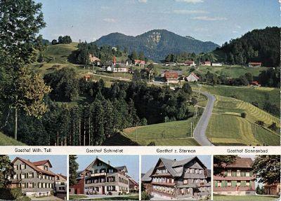 Sonniges Wander- und Feriengebiet Sternenberg