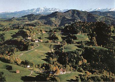 Sternenberg mit Hörnli, Säntis und Churfirsten