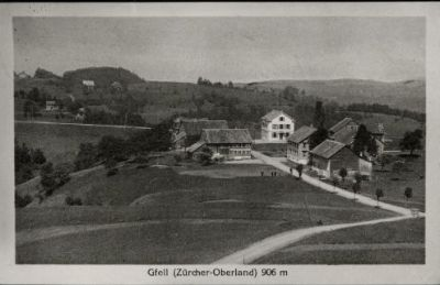 Gfell, Sternenberg, Gasthaus Wilhelm Tell