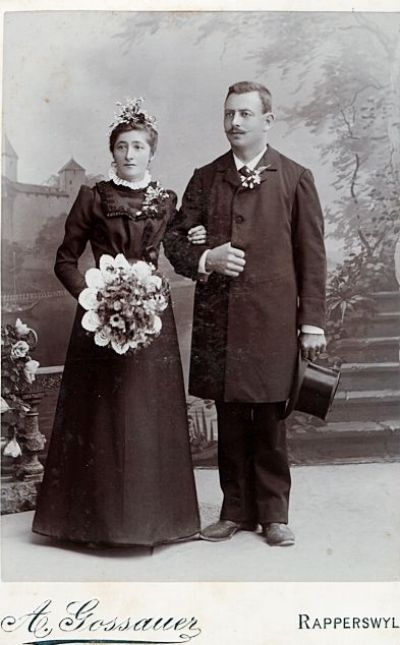 Hochzeitspaar Erni-Kündig