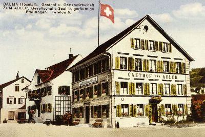 Haustafel: Gasthaus zum Adler