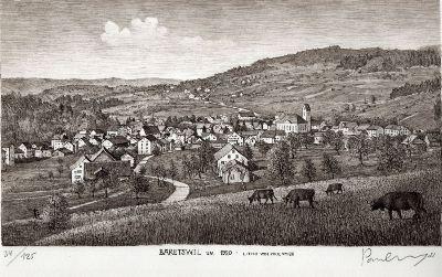 Bäretswil um 1920