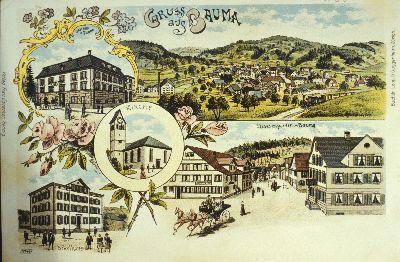 Dorfstrasse Ansicht</x> vom <x>Bahntrasse (Friedhof)