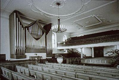 Reformierte Kirche: Innenraum, Orgel