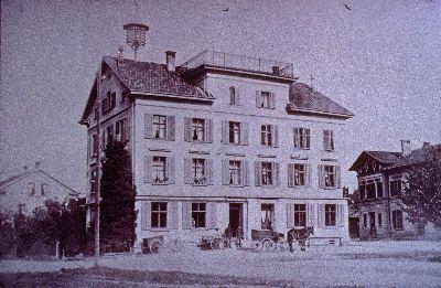 Restaurant Bahnhof</x> mit <x>Post