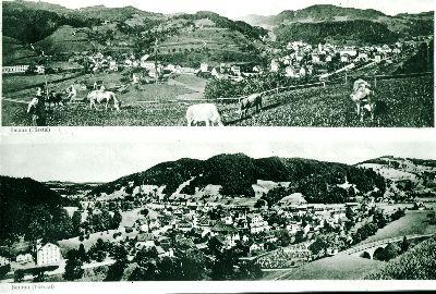 Panorama Dorfansicht