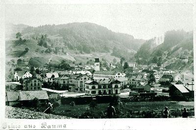Bahnhof Bauma</x> von <x>Norden