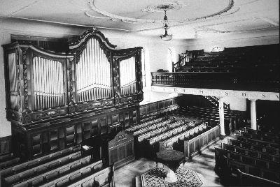 ref. Kirche, Orgel